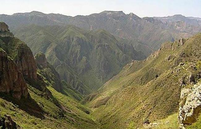 Национальный парк Медный каньон