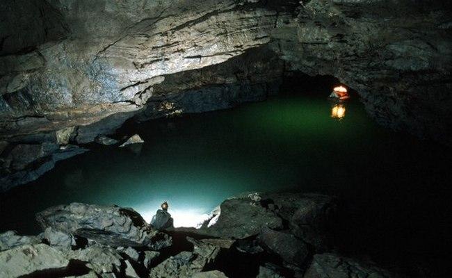 Подземная река Тимаво в Италии