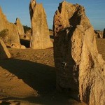 Пустыня Пиннакли – фантастический пейзаж
