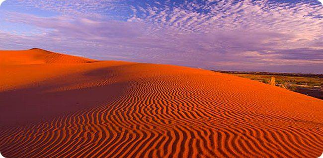 Пустыня Симпсон в Австралии