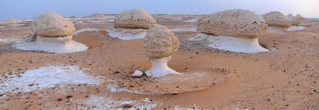 Белая пустыня в Египте
