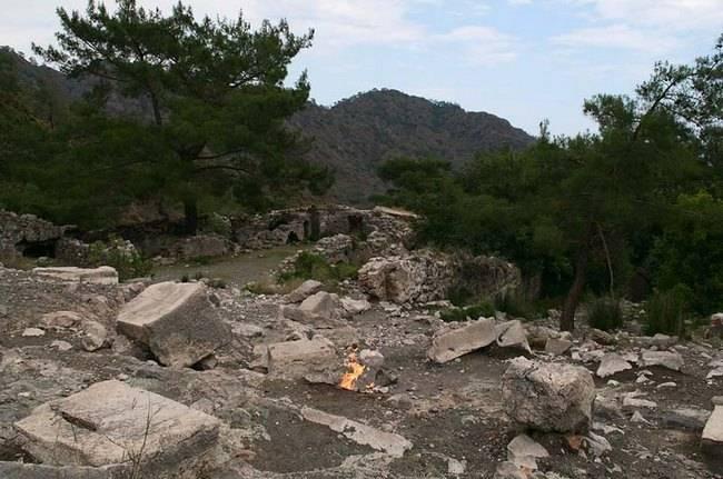 Горящая гора Химера