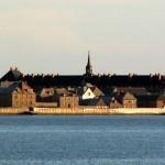 Крепость Луисбург  на острове Кейп — Бретон