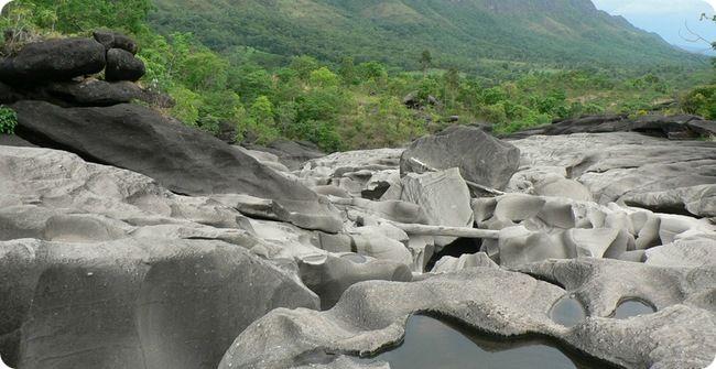 Лунная долина в Бразилии