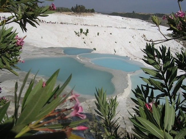 Памуккале в Турции