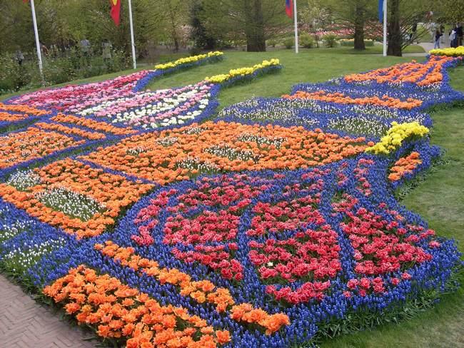 Кёкенхоф – парк в Голландии