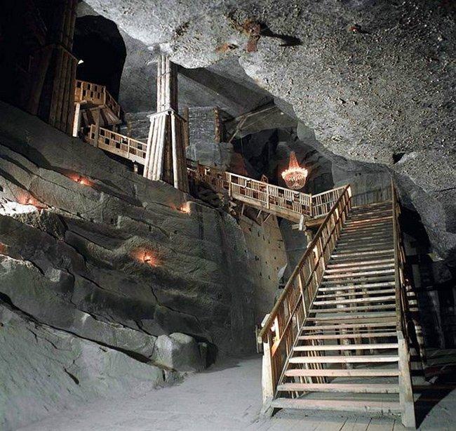 Соляные шахты в Величке. Польша.
