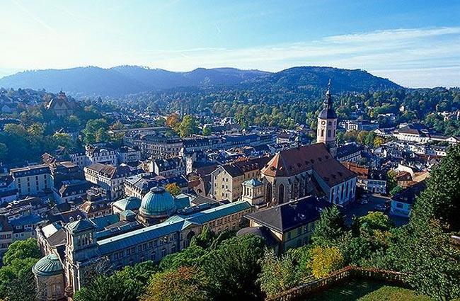 Баден-Баден - курорт Германии с богатой историей