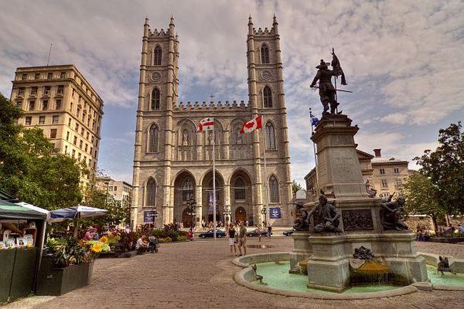 Собор Нотр  - Дам де Монреаль