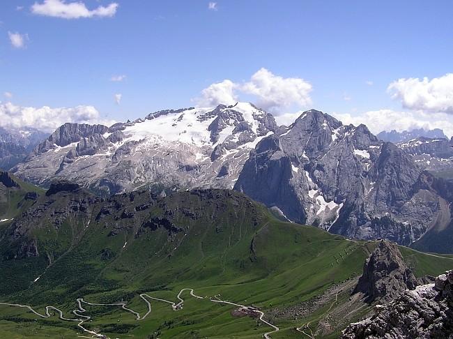 Горы Италии, Белоснежная Мармолада