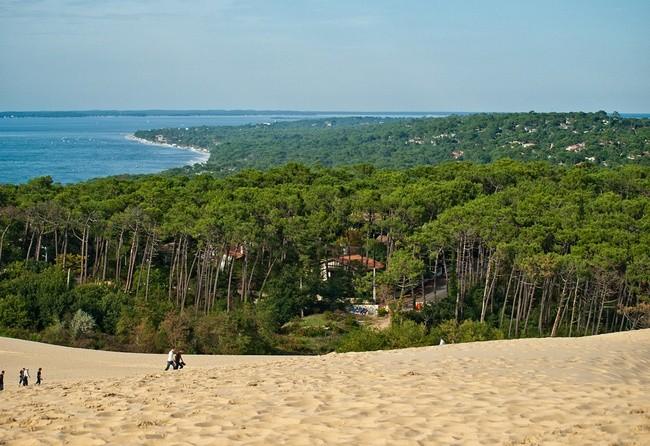 Большая песчаная дюна в Пиле, Франция