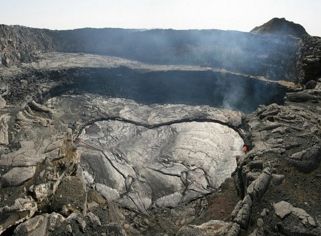 Лавовые озера вулкана Эрта Але