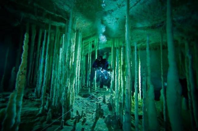 пещера Национальные парки Багамских островов
