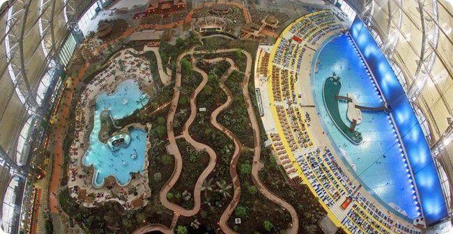 Аквапарк Тропические острова в  Германии