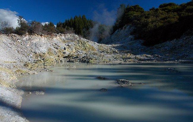 Долина Роторуа – кипящее сердце Новой Зеландии