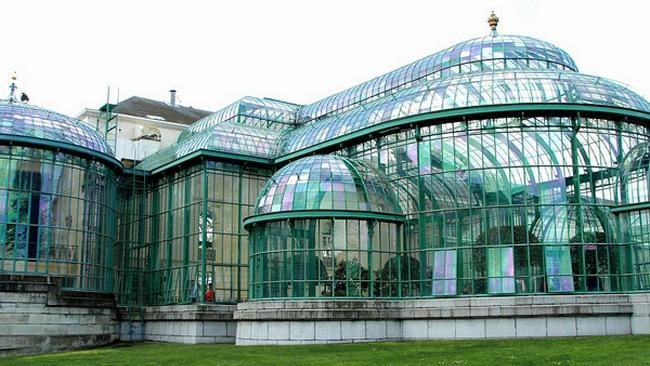 Королевские теплицы в Брюсселе