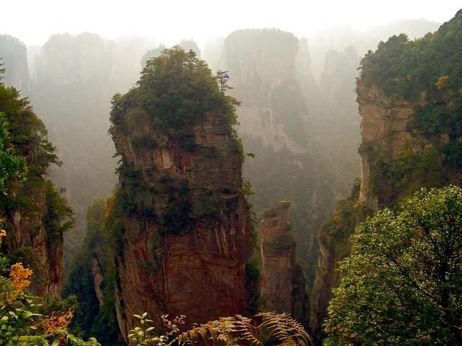 Горы из фильма Аватар в Китае