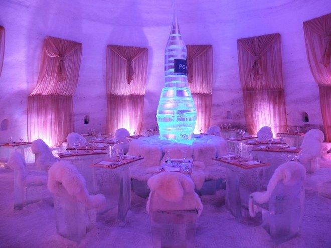 Необычный отель за Полярным кругом Финляндия