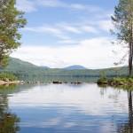 Озеро Тиберкуль в Красноярском крае
