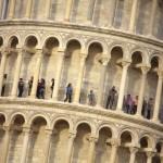 Пизанская башня в Италии
